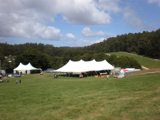 tent near great ocean road