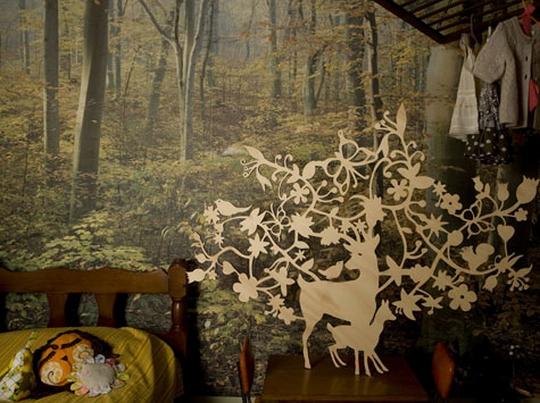 deer-timber