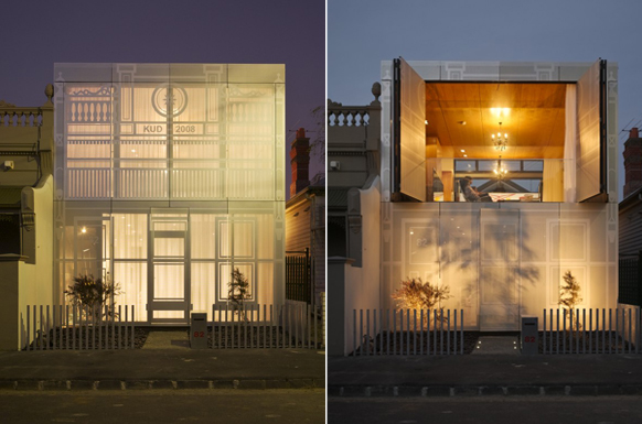 KUD perforated House