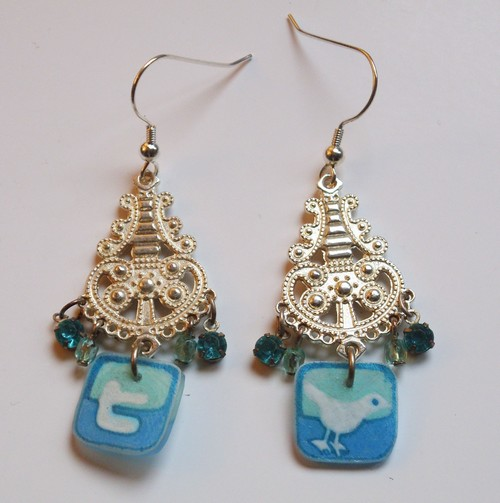Twitter Earrings