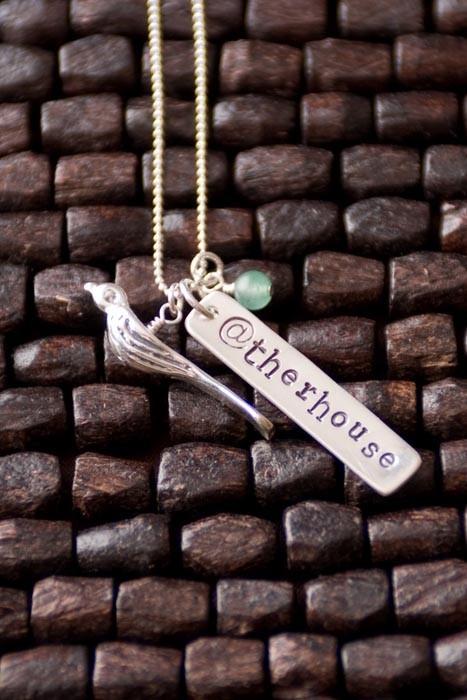 totally twitterrific custom necklace