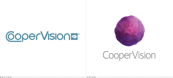 CooperVision Logo, Before and After
